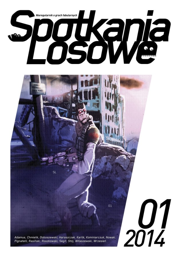 Spotkania Losowe nr1/2014 – okładka