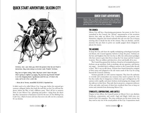 Fate Codex #1 – przykładowe strony