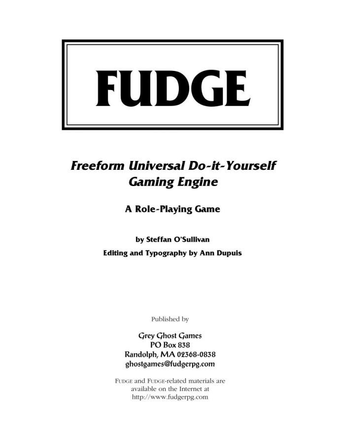 FUDGE (1995 r.)