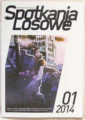 SL 001 – okładka wydania papierowego